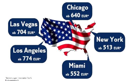 USA - Flüge